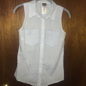 NWOT Patagonia sleeveless blouse